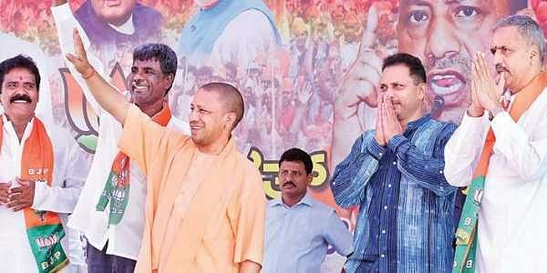 Yogi Adityanath cuts short Karnataka campaign trip over UP storm deaths