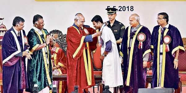 Madras University is model for country: President
