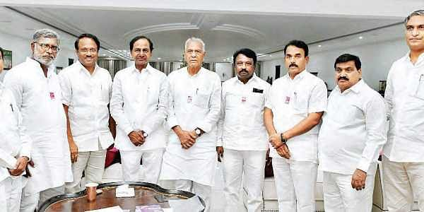 Telangana Congress MLC, former MLAs join TRS- The New Indian