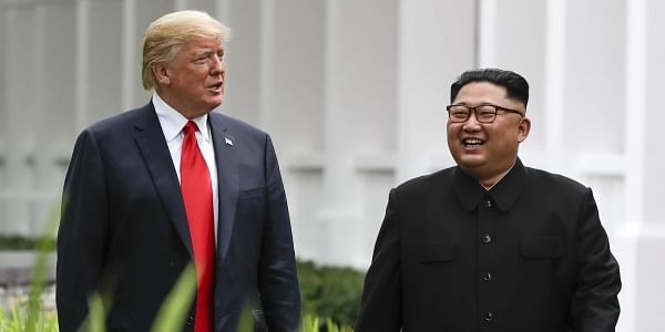 Trump says his agreement with North Korea will be good for China