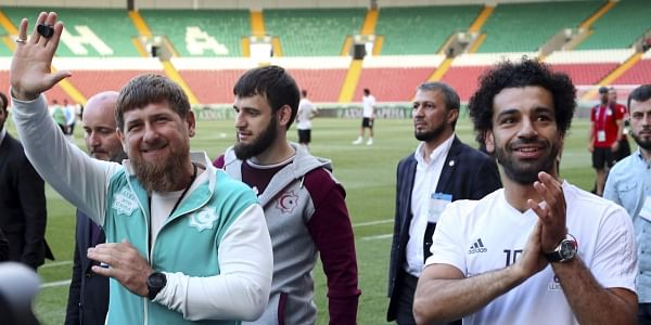 7fa22256d Mohamed Salah makes FIFA World Cup headlines for Chechnya photo- The ...