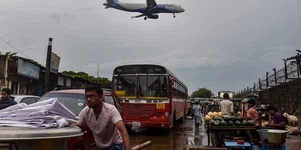 Indigo, flight, mumbai, roadside, vendor
