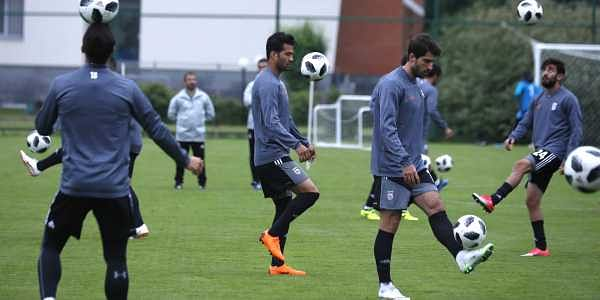 Iran national team during a training session (File  f243890b562a