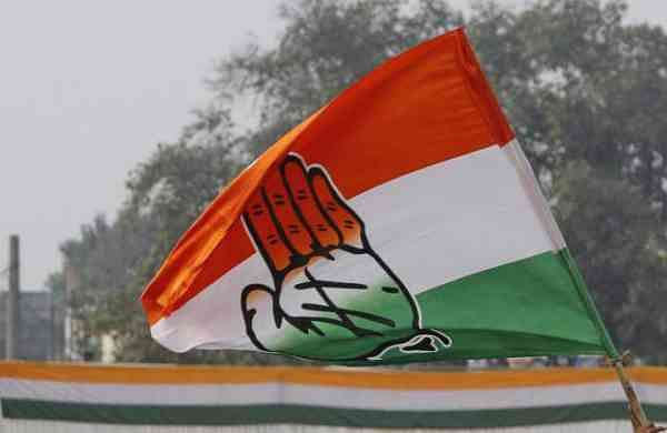 A representational image of a congress flag. (File Photo| PTI)