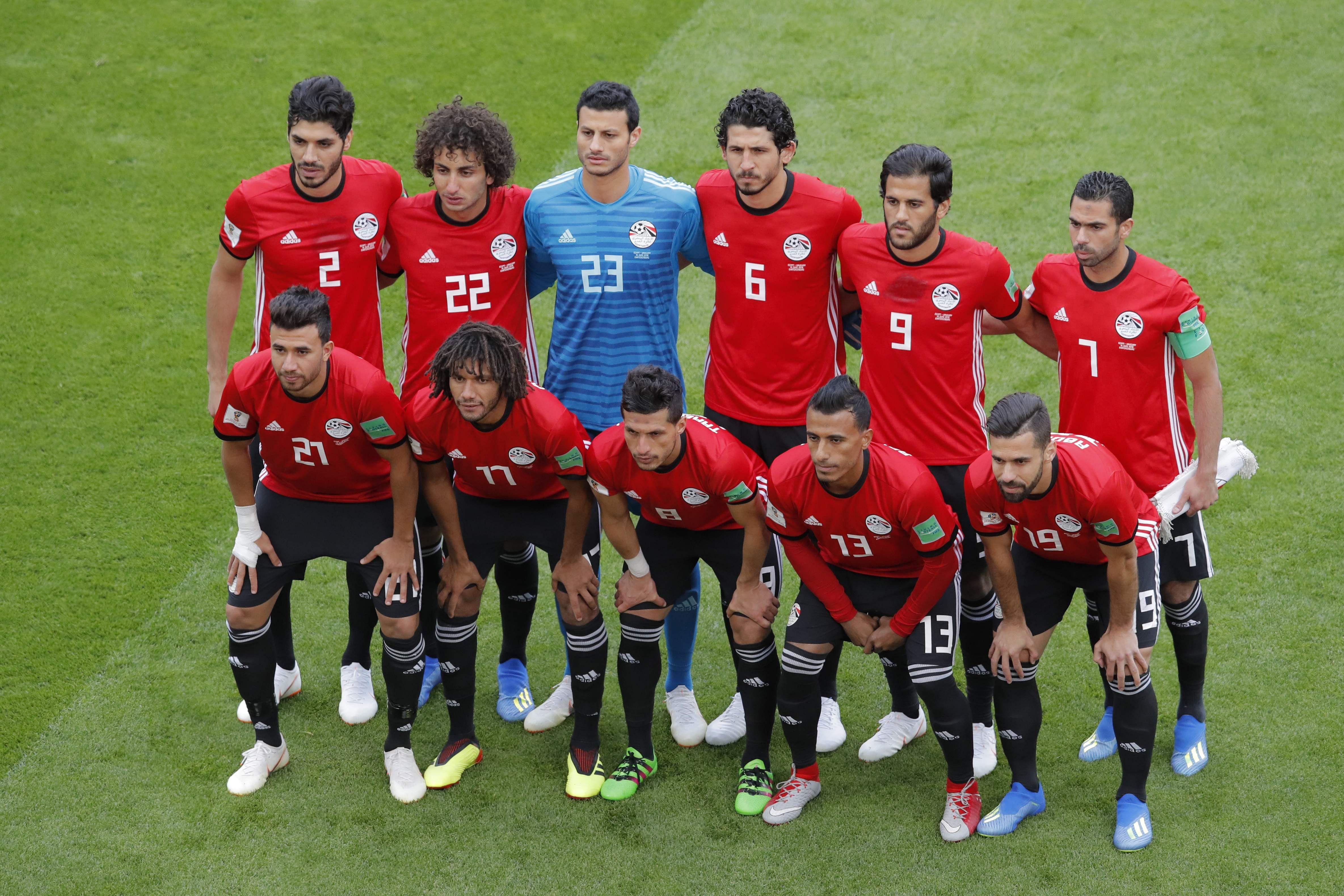 Egypt football team sans Salah