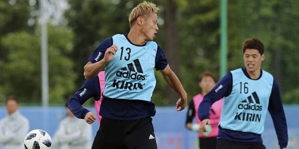 Japan's FIFA World Cup debutant Hiroki Sakai made by