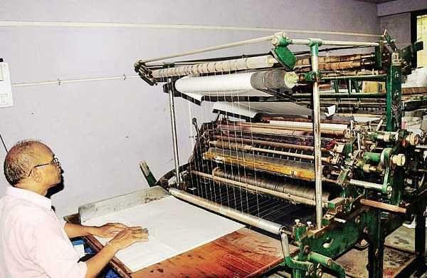 Subhash Mallannavar at his workshop in Belagavi | express