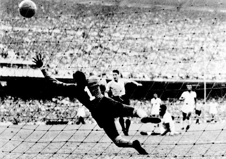 URUGUAY 8, BOLIVIA 0: Uruguay pulled off an 8-0 victory in 1950 against Bolivia. Oscar Miguez scored a hat trick. For Bolivia, there was some consolation because Uruguay ended up winning the title after beating Brazil 2-1 in the final match of the tournament. (File photo | AFP)