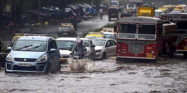 Mumbai Heavy downpour