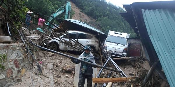destruction caused by floods