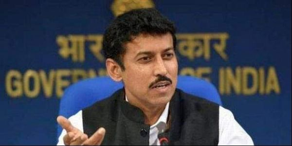 Union Sports Minister Rajyavardhan Singh Rathore