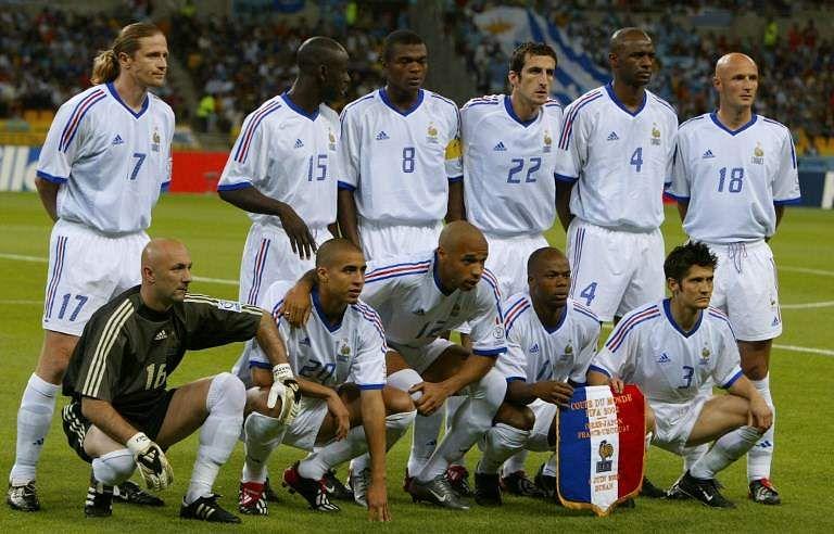 France football team in 2002 | AFP