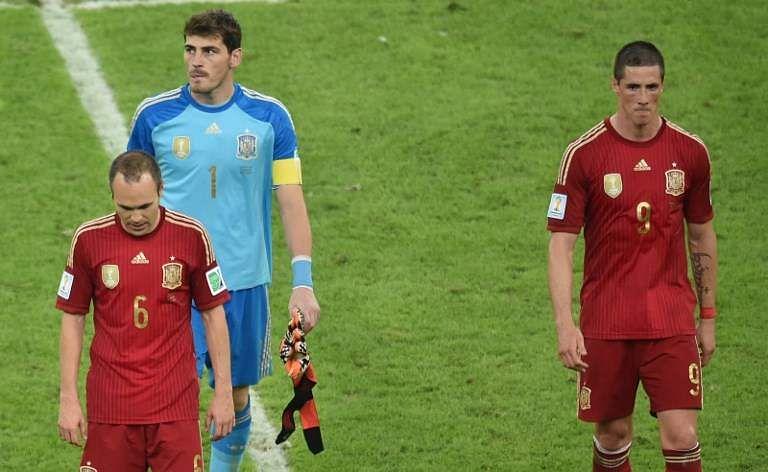 Iker Casillas, Torres, Iniesta