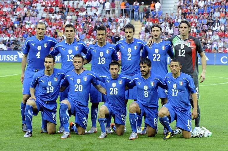 Italy football team 2010