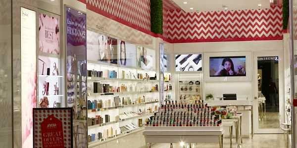 49b1ecbdaba The newly opened Nykaa store at Palladium in Chennai. (Nakshatra  Krishnamoorthy   EPS)