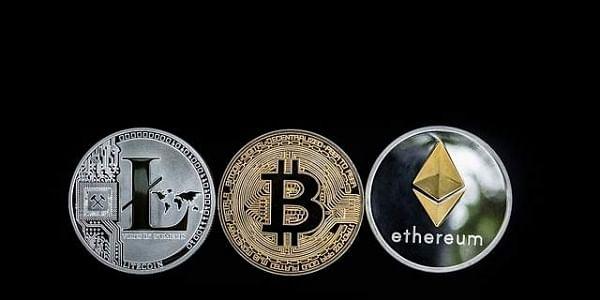 Bitcoin,Ethereum,Litecoin