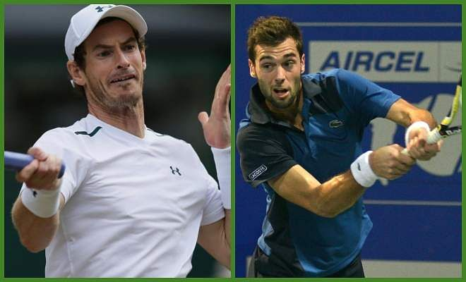 Andy Murray vs Benoit Paire