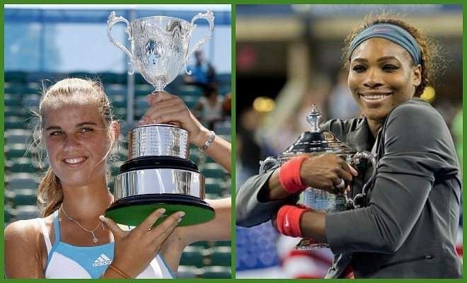 Arantxa Rus vs Serena Williams