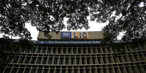An exterior view of Life Insurance Corporation of India's (LIC) headquarters is seen in Mumbai | Reuters