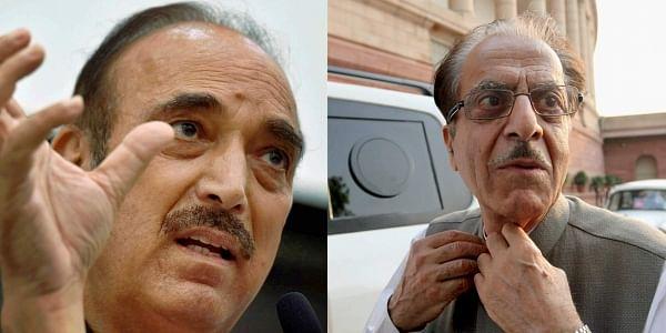 Saifuddin Soz and Ghulam Nabi Azad