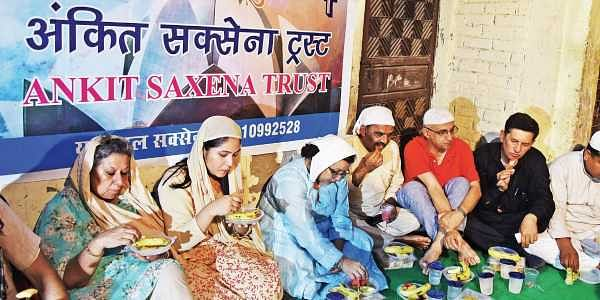 Image result for Hindu Man Hosts Iftar Party After Son Killed By Muslim Girlfriend's Kin.