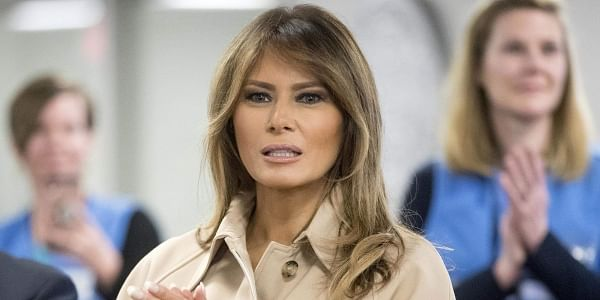 Melania had 'big operation', can't fly for a month: US President