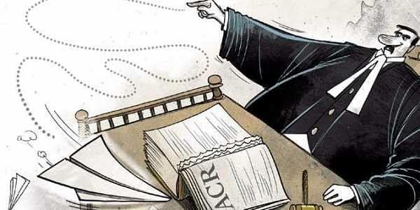 justice, judiciary, illustration, TNIE, ACR