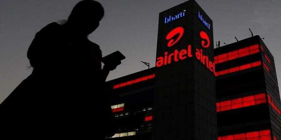 The Bharti Airtel office building. (File Photo | Reuters)