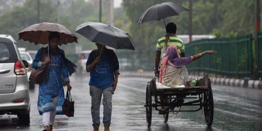 Delhi rains, NEw delhi rain, June 28, 2018 | PTI photo
