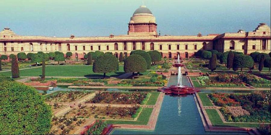 Rashtrapati Bhavan gardens