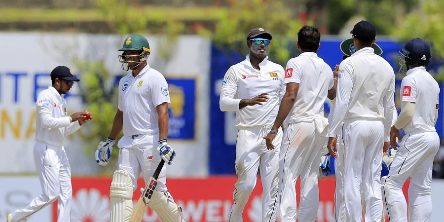 Sri Lanka dismissed South Africa for just 126 and 73 runs in the first Test match in Galle. (Photo - Cricket Sri Lanka)