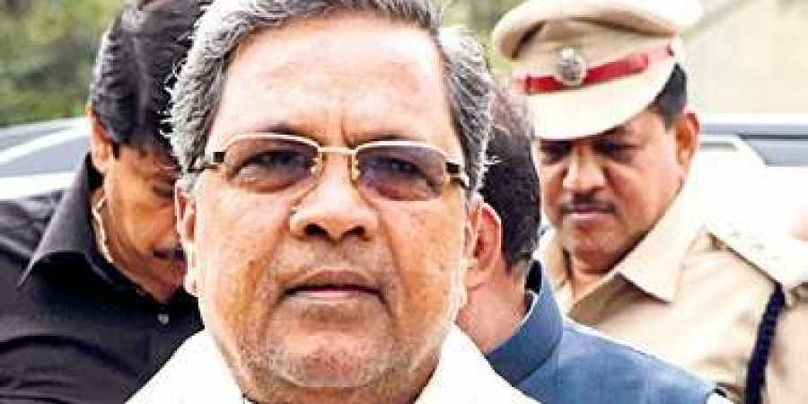 Former Karnataka Chief Minister Siddaramaiah   EPS