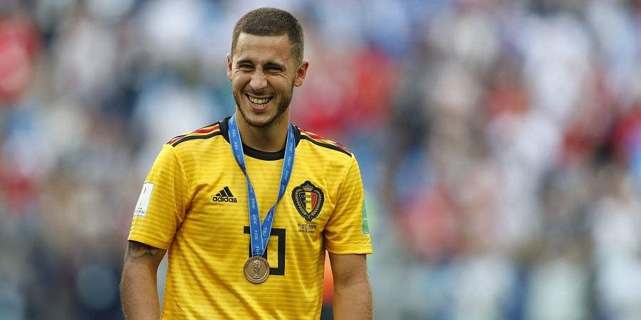 cdeaf093f Belgium star Eden Hazard drops Chelsea exit hint after England win in FIFA World  Cup