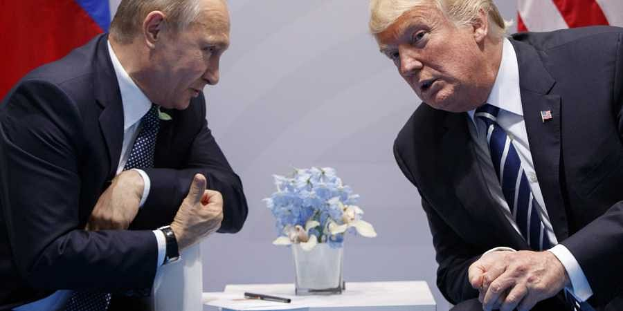 Trump calls European Union  foe on eve of Putin summit