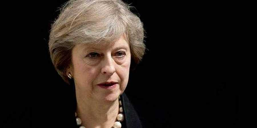 British Prime Minister Theresa May: President Trump Suggested Suing the EU