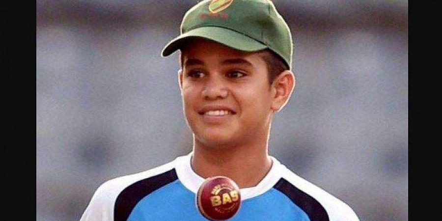 sachin tendulkar son arjun makes international debut the new