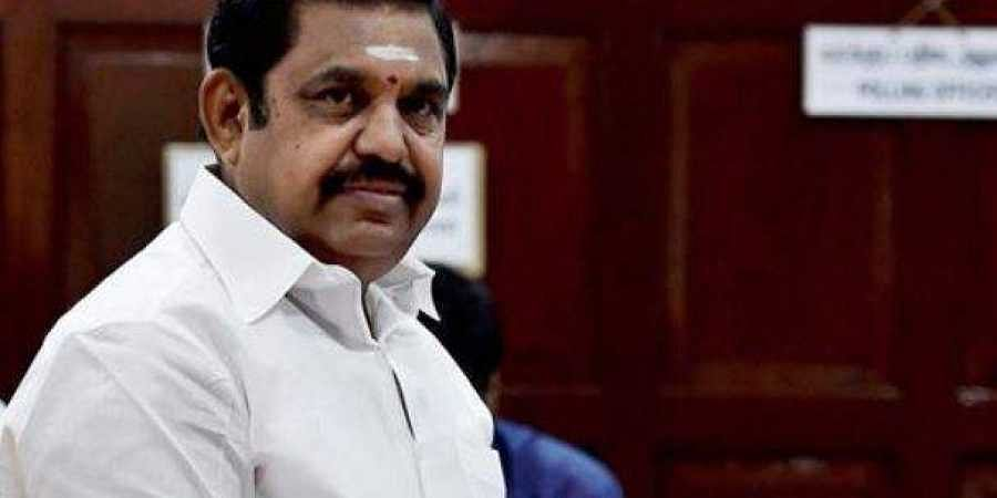 Man arrested for posting false online content about tamil nadu chief tamil nadu cm edappadi palaniswami file pti thecheapjerseys Images