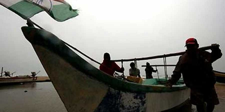 Fishermen in the Bay of Bengal