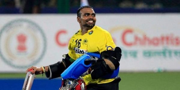 India hockey captain PR Sreejesh (Photo | Hockey India Twitter)