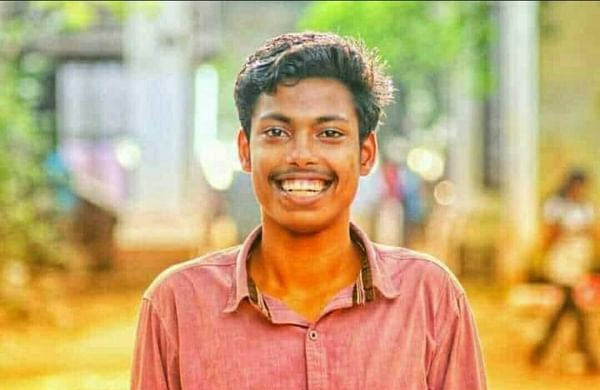 Abhimanyu (20), a SFI leader, who was stabbed to death allegedly by NDF workers.