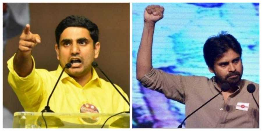 Nara Lokesh directly attacks Pawan, Jagan & BJP