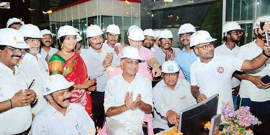 Kaleshwaram: Dry run for 139 MW pump conducted- The New