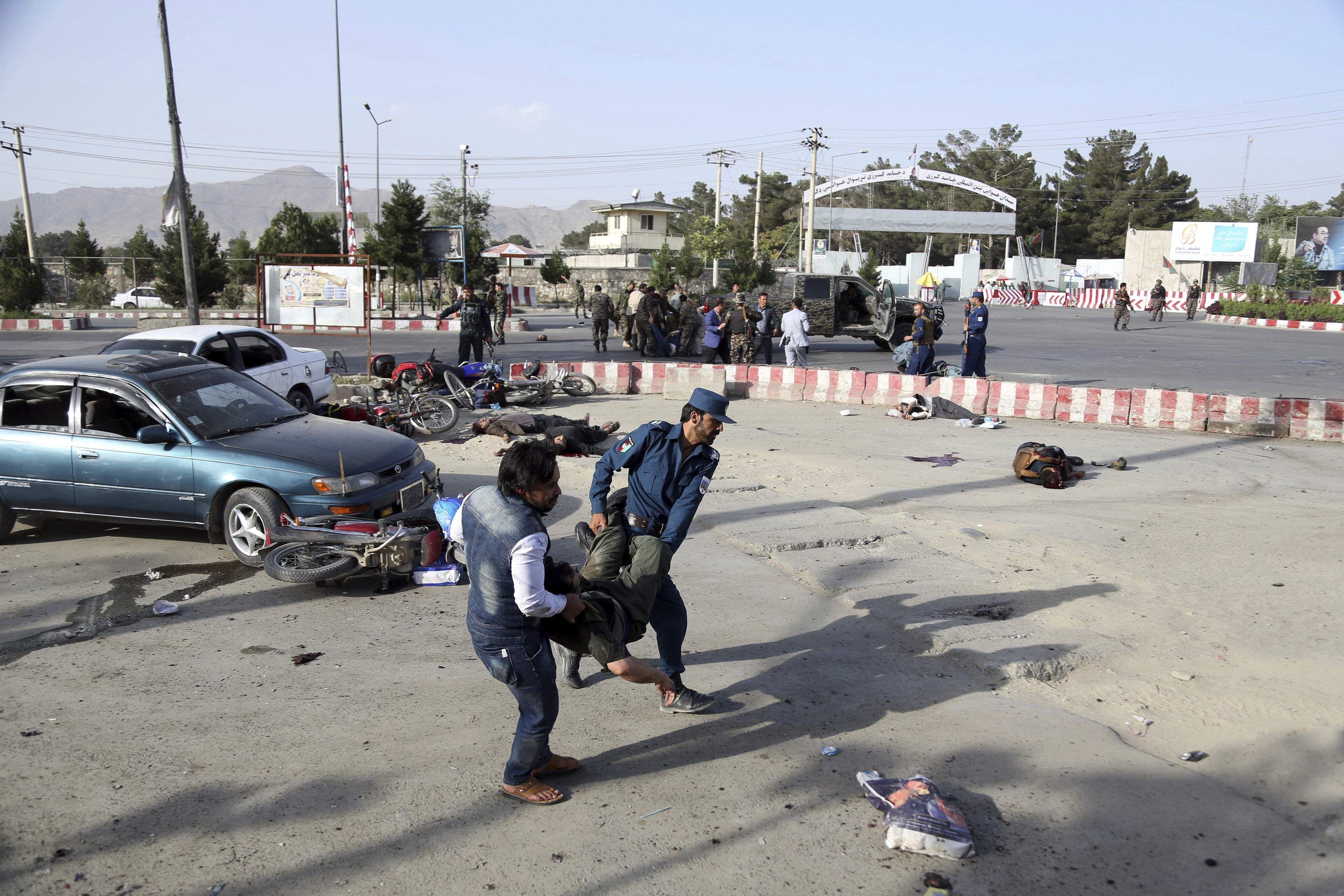 afghan blast