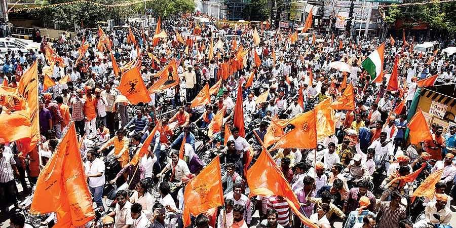Vishwa Hindu Parishad taking out a procession. (File Photo)
