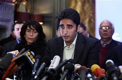 Bilawal Bhutto Zardari | AP