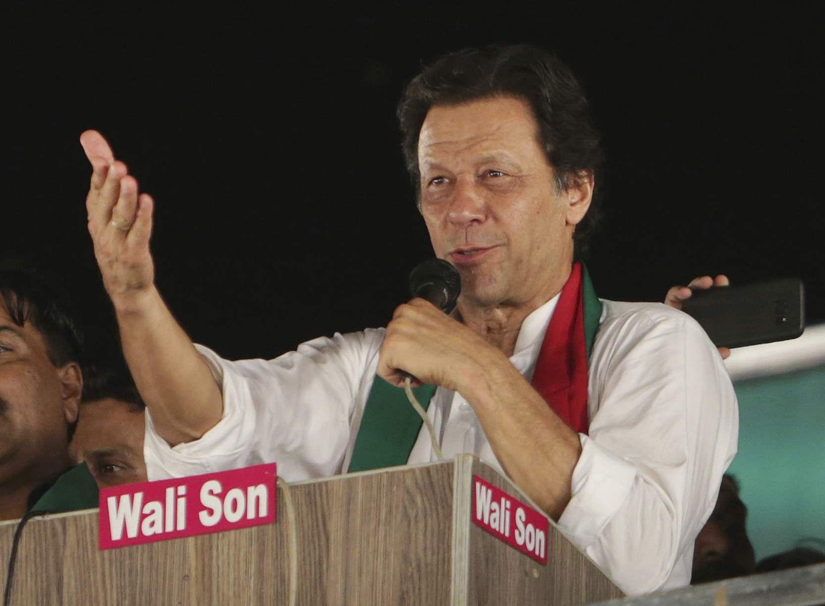 Imran Khan | AP