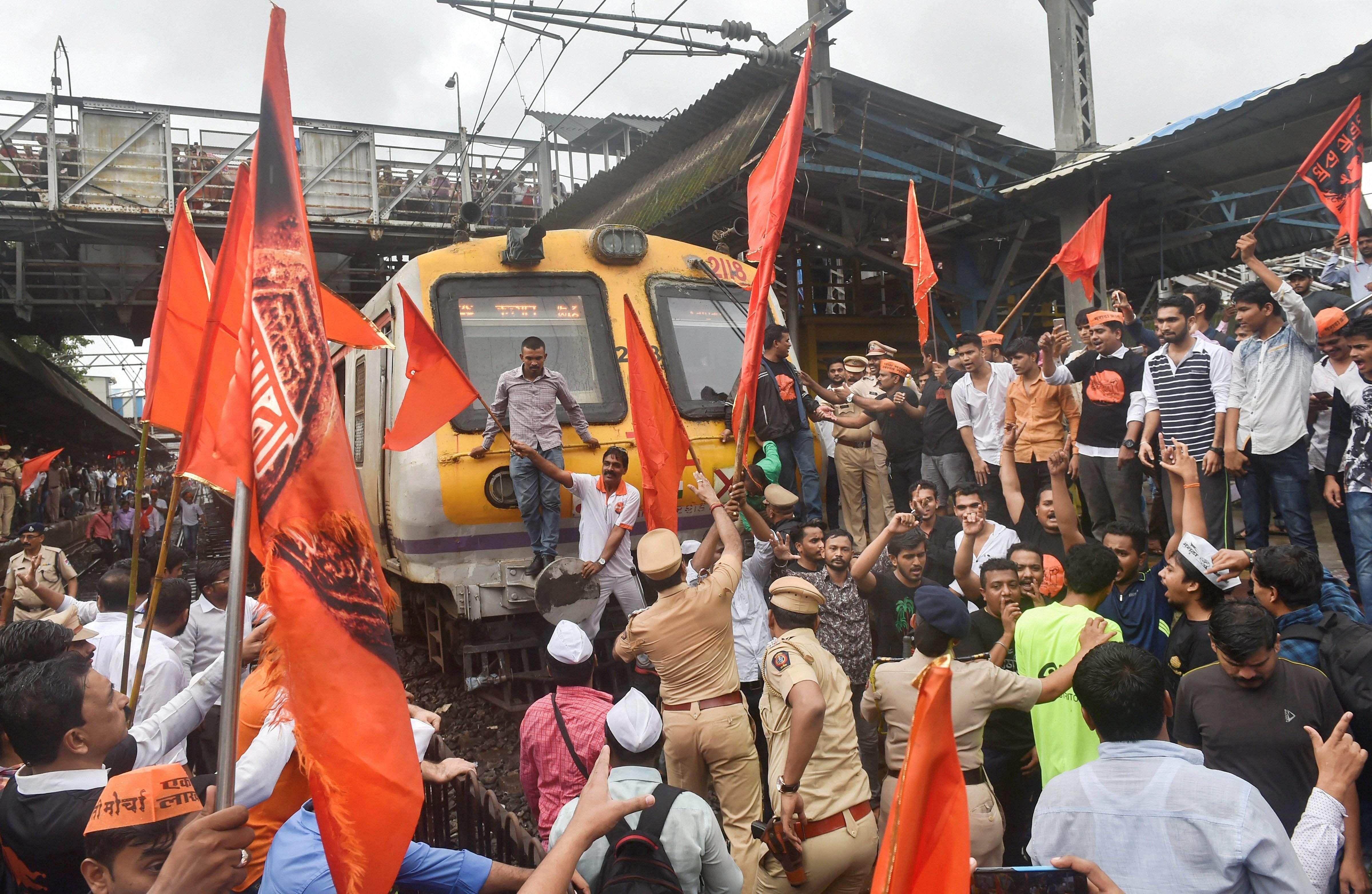 Maratha quota protests
