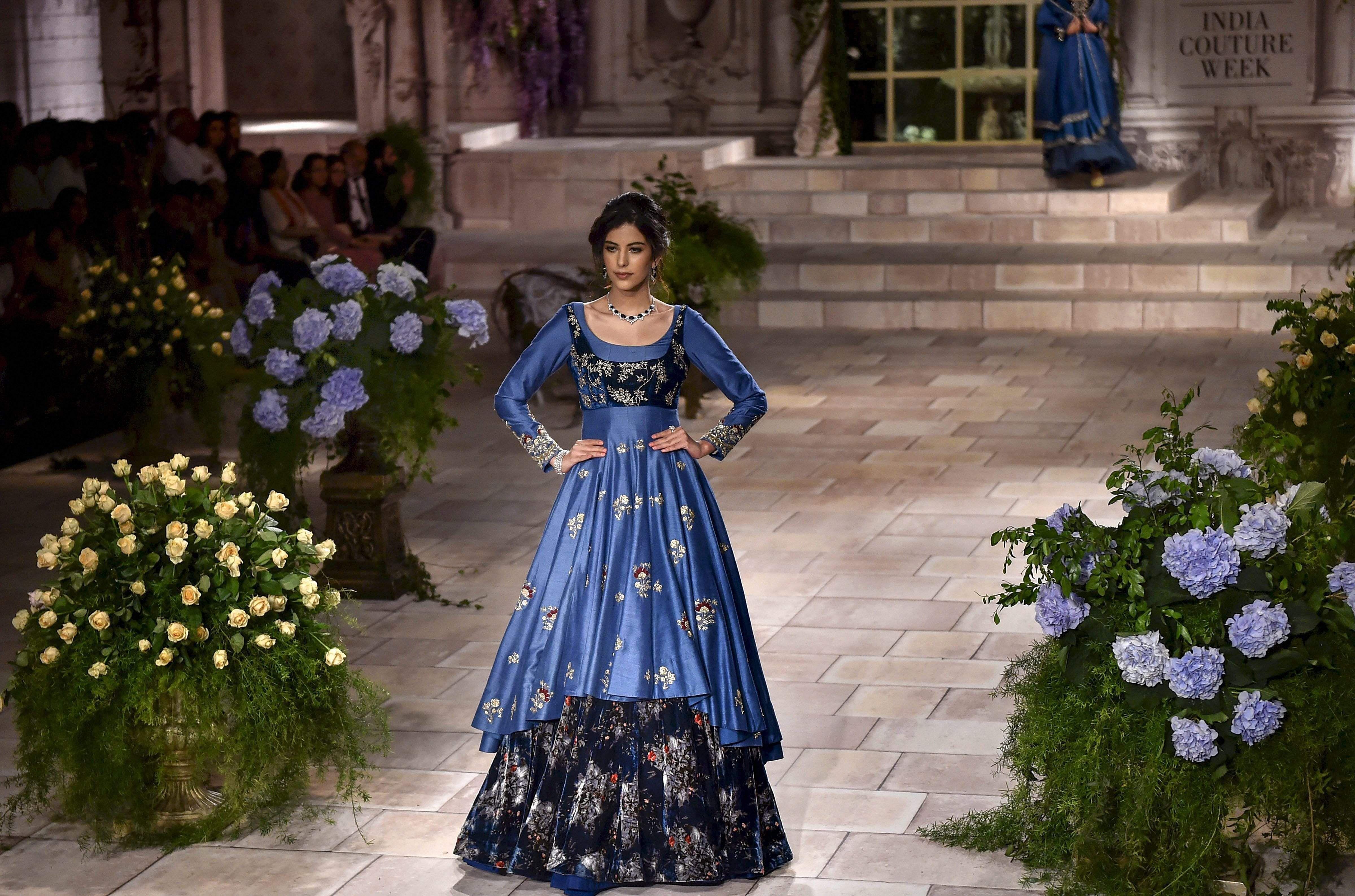 Anju Modi-India Couture Week