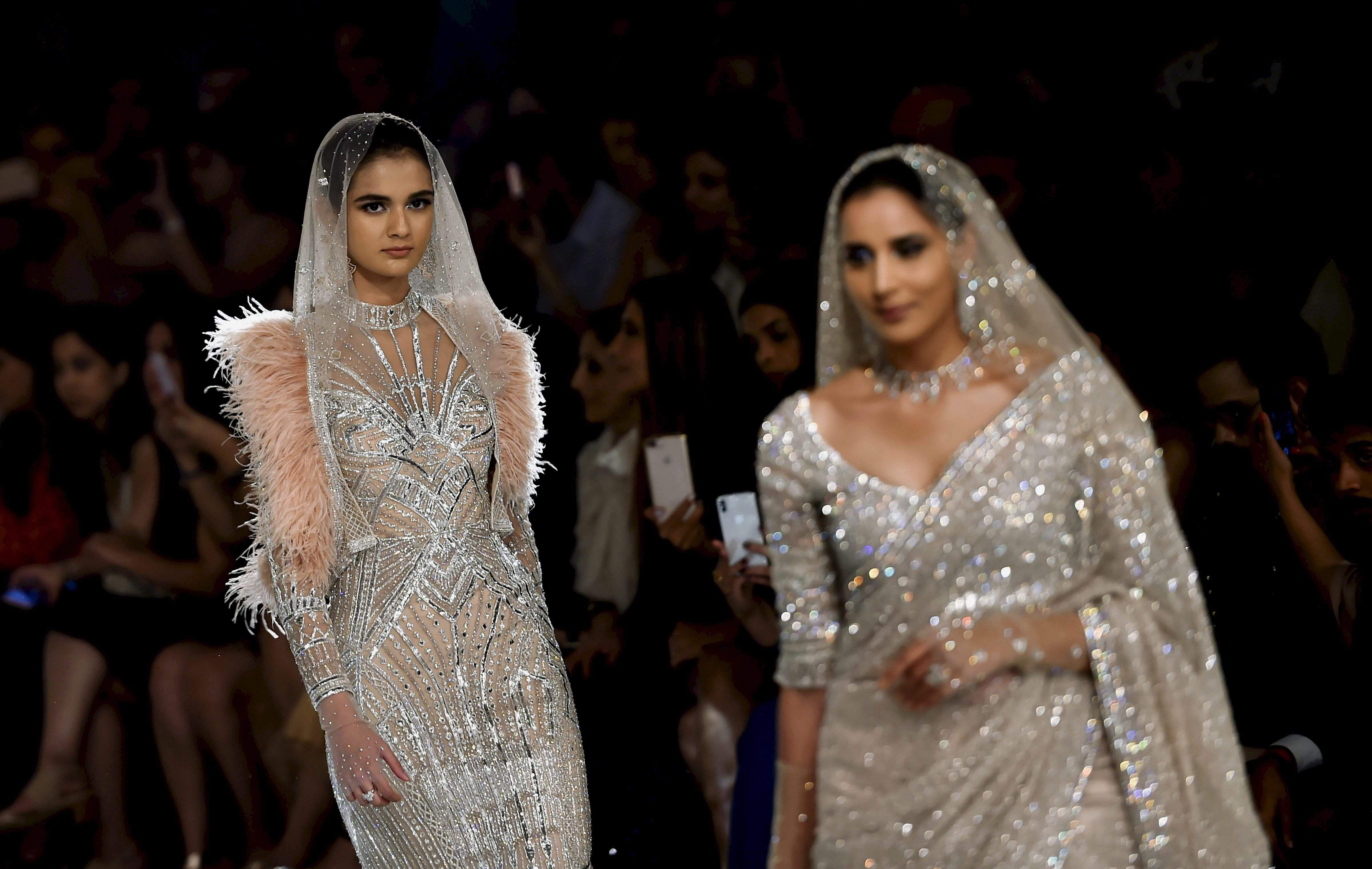Falguni and Shane Peacock-India Couture Week