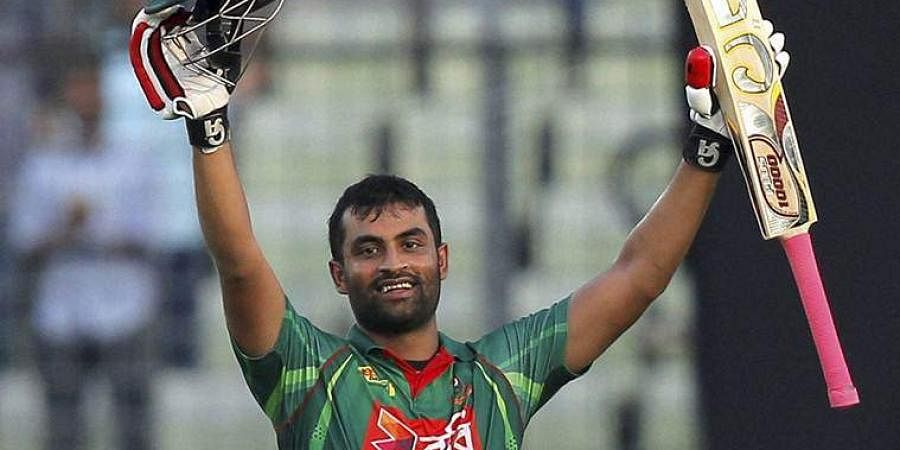 Tamim Iqbal scored 2 hundreds in the ODI series against West Indies. (Photo - AP)